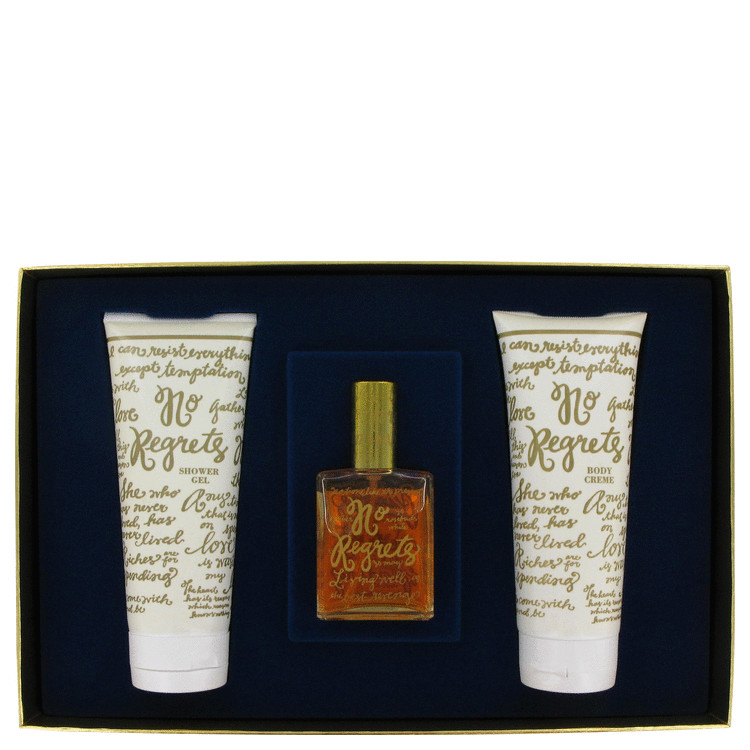 No Regrets Gift Set -- Gift Set - 1.9 oz Eau De Toilette Spray + 6.7 oz Body Cream + 6.7 oz Shower Gel for Women