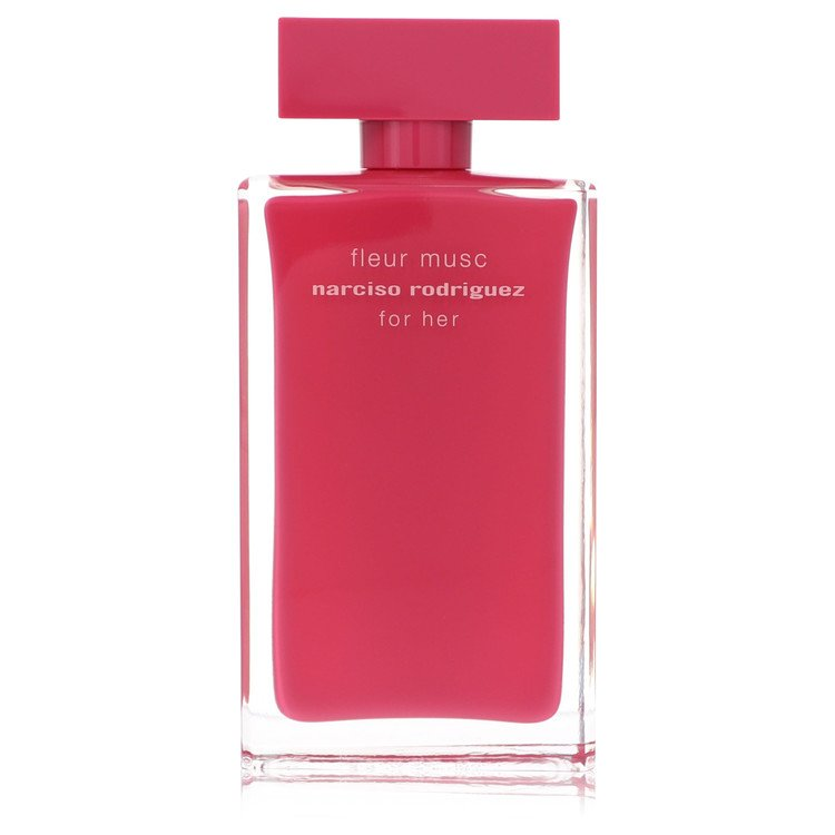 Narciso Rodriguez Fleur Musc Perfume 100 ml Eau De Parfum Spray (Tester) for Women