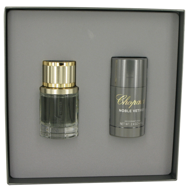 Noble Vetiver Gift Set -- Gift Set - 1.7 oz Eau De Toilette Spray + 2.4 oz Deodorant Stick for Men