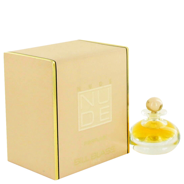 Nude Pure Perfume by Bill Blass .33 oz Parfum for Women