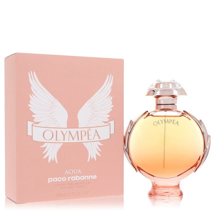 Olympea Aqua by Paco Rabanne Eau De Parfum Legree Spray 2.7 oz