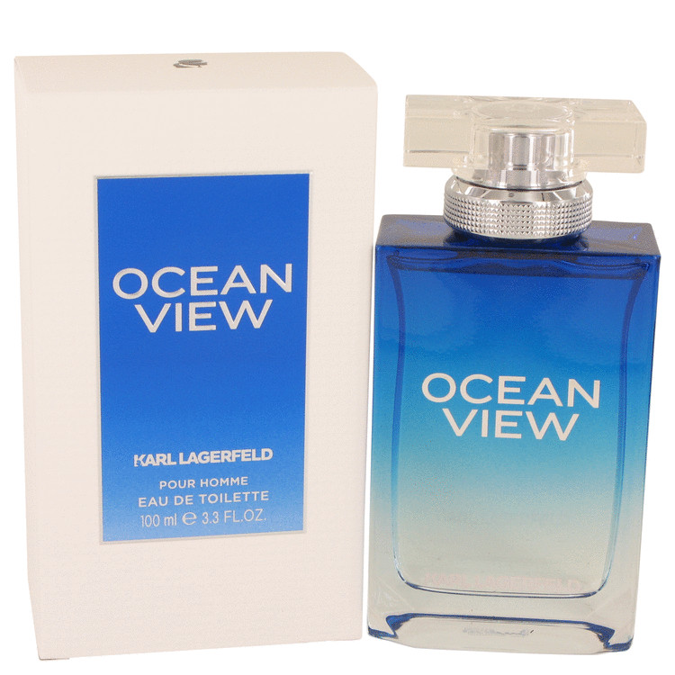 Ocean View Cologne by Karl Lagerfeld 100 ml EDT Spay for Men