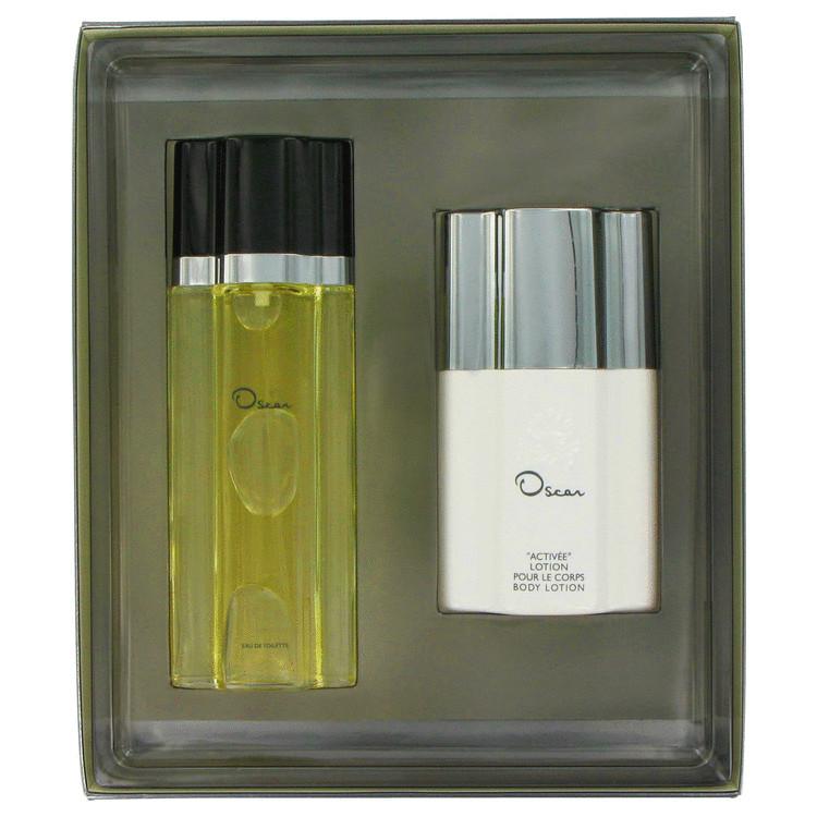 Oscar Gift Set -- Gift Set - 3.3 oz Eau De Toilette Spray + 4.4 oz Body Lotion for Women