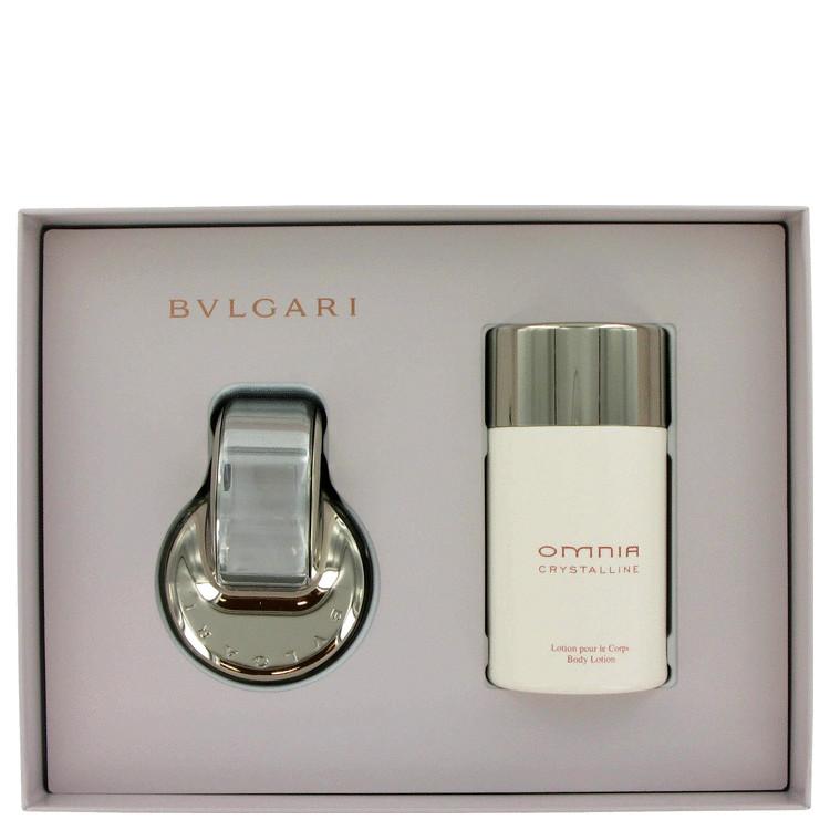 Omnia Crystalline Gift Set -- Gift Set - 2.2 oz Eau De Toilette Spray + 6.8 oz Body Lotion for Women