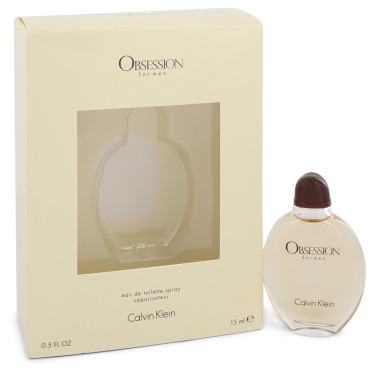OBSESSION by Calvin Klein –  Eau De Toilette Spray .5 oz 15 ml for Men