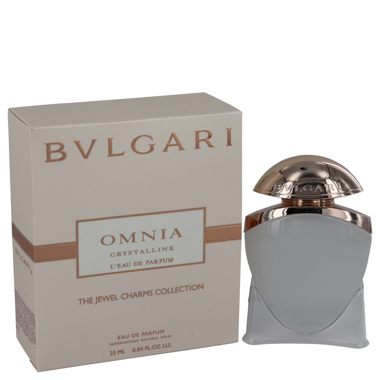 Omnia Crystalline L\'eau De Parfum by Bvlgari for Women Mini EDP Spray .84 oz