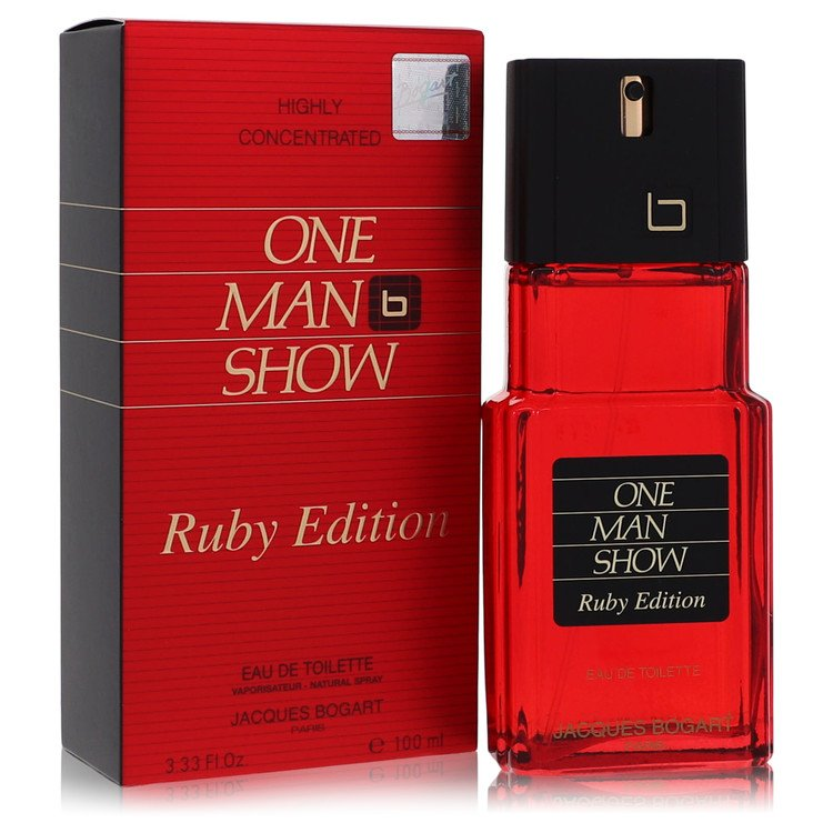 One Man Show Ruby Cologne by Jacques Bogart 100 ml EDT Spay for Men