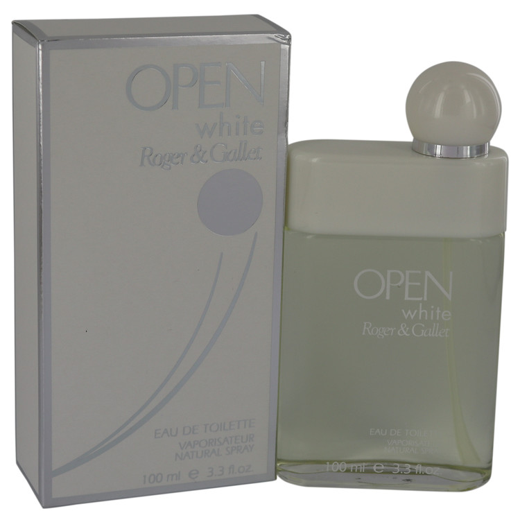 Open White Cologne by Roger & Gallet 100 ml EDT Spay for Men