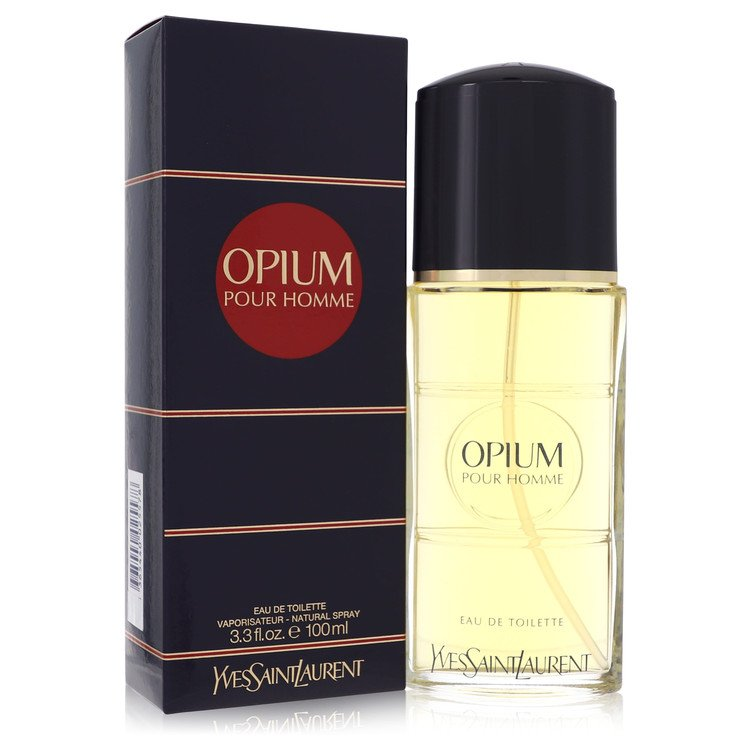 OPIUM by Yves Saint Laurent –  Eau De Toilette Spray 3.3 oz 100 ml for Men