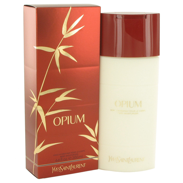 OPIUM by Yves Saint Laurent for Women Body Moisturizer (New Packaging) 6.6 oz