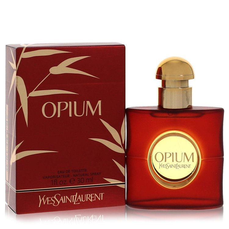 OPIUM by Yves Saint Laurent Eau De Toilette Spray (New Packaging) 1 oz