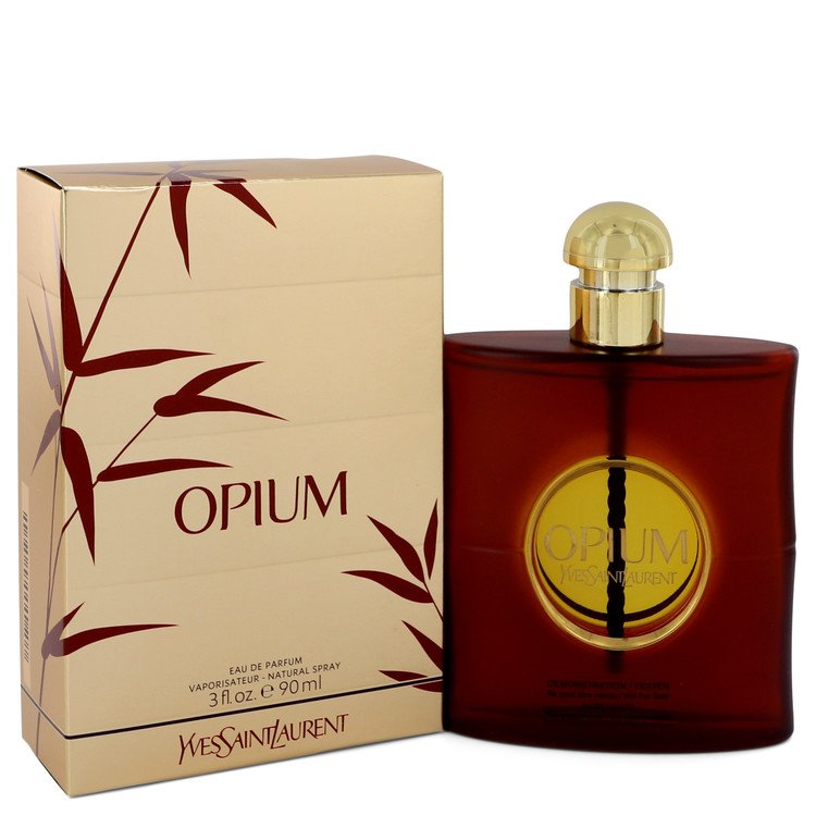 OPIUM by Yves Saint Laurent –  Eau De Parfum Spray (New Packaging) 3 oz 90 ml for Women