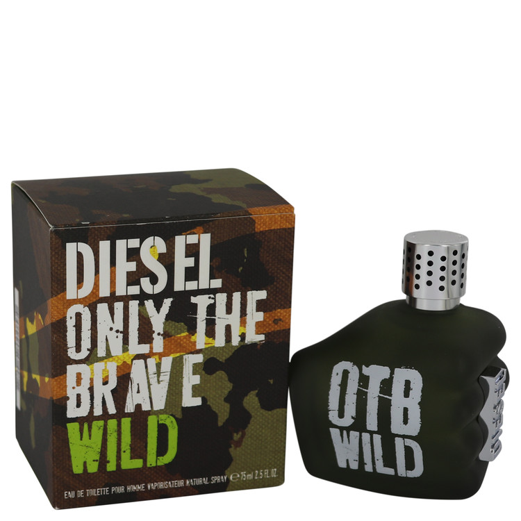 Only The Brave Wild Cologne by Diesel 75 ml EDT Spray(Tester) for Men