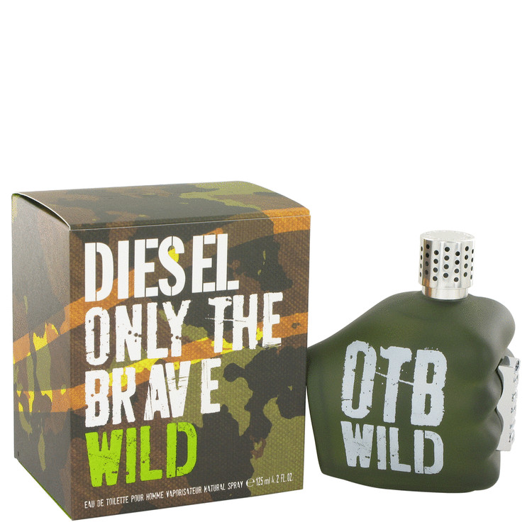 Only The Brave Wild Cologne by Diesel 125 ml EDT Spay for Men