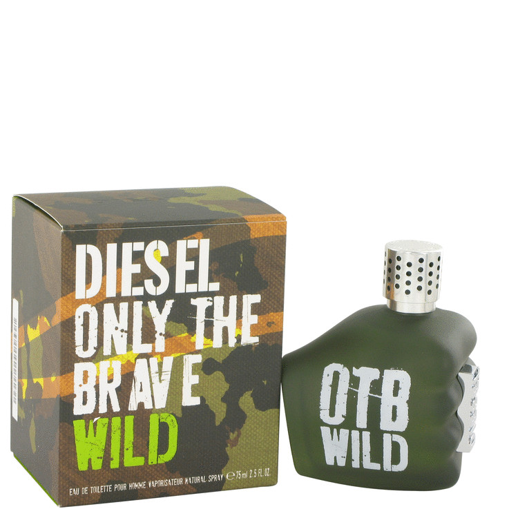 Only The Brave Wild Cologne by Diesel 75 ml EDT Spay for Men