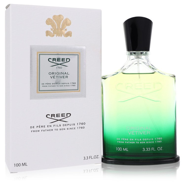 Original Vetiver Cologne by Creed 100 ml Millesime Spray for Men