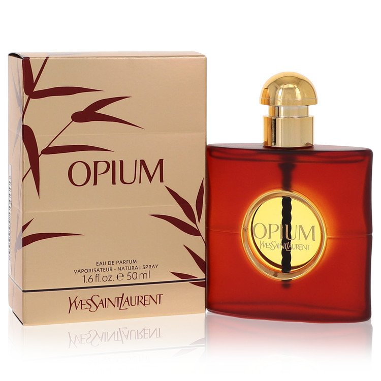 OPIUM by Yves Saint Laurent –  Eau De Parfum Spray (New Packaging) 1.6 oz 50 ml for Women
