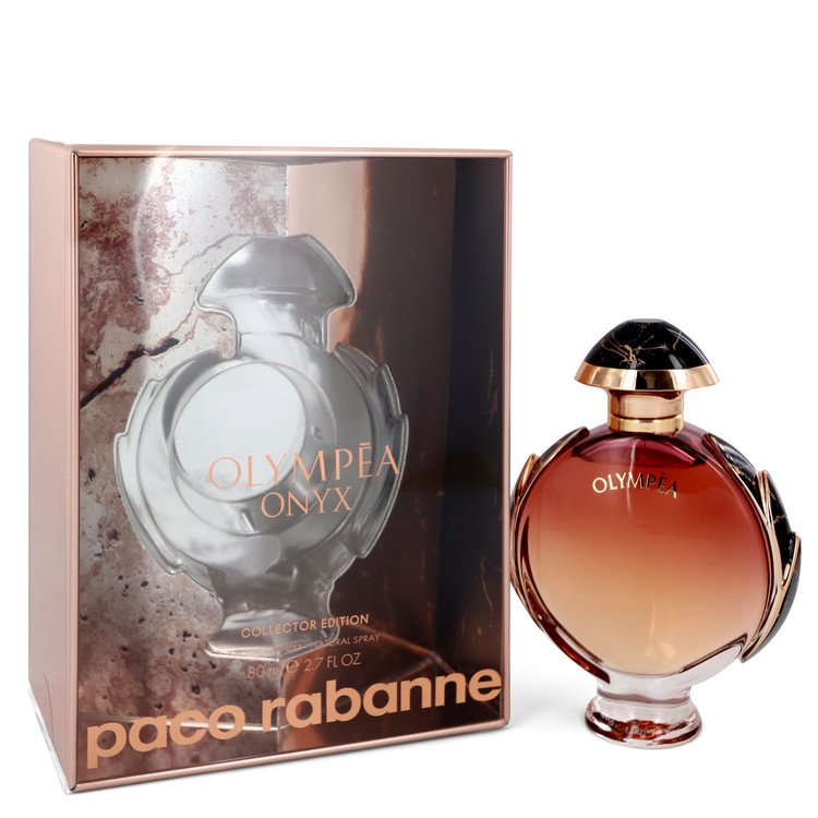 Olympea Onyx by Paco Rabanne –  Eau De Parfum Spray Collector Edition 2.7 oz 80 ml for Women