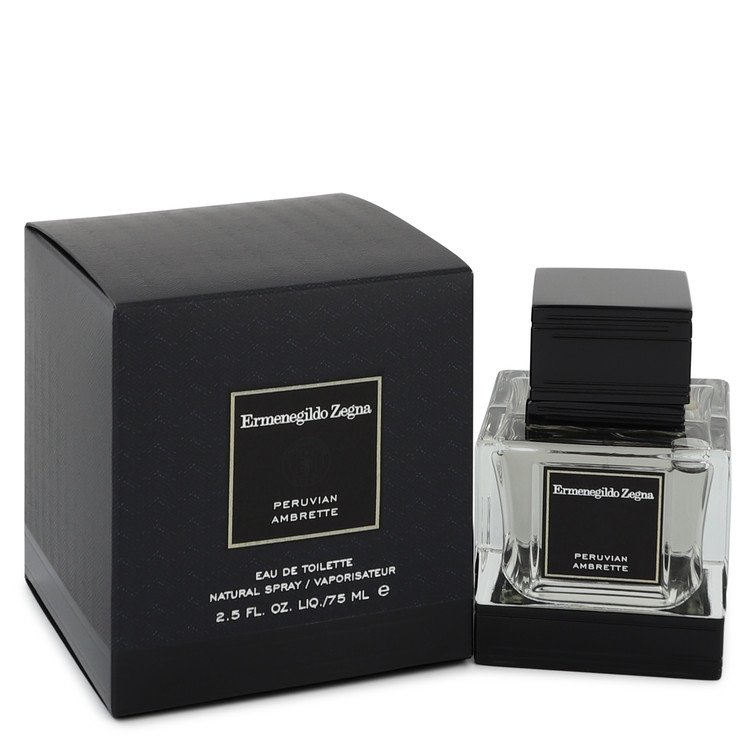 Peruvian Ambrette Cologne by Ermenegildo Zegna 75 ml EDT Spay for Men