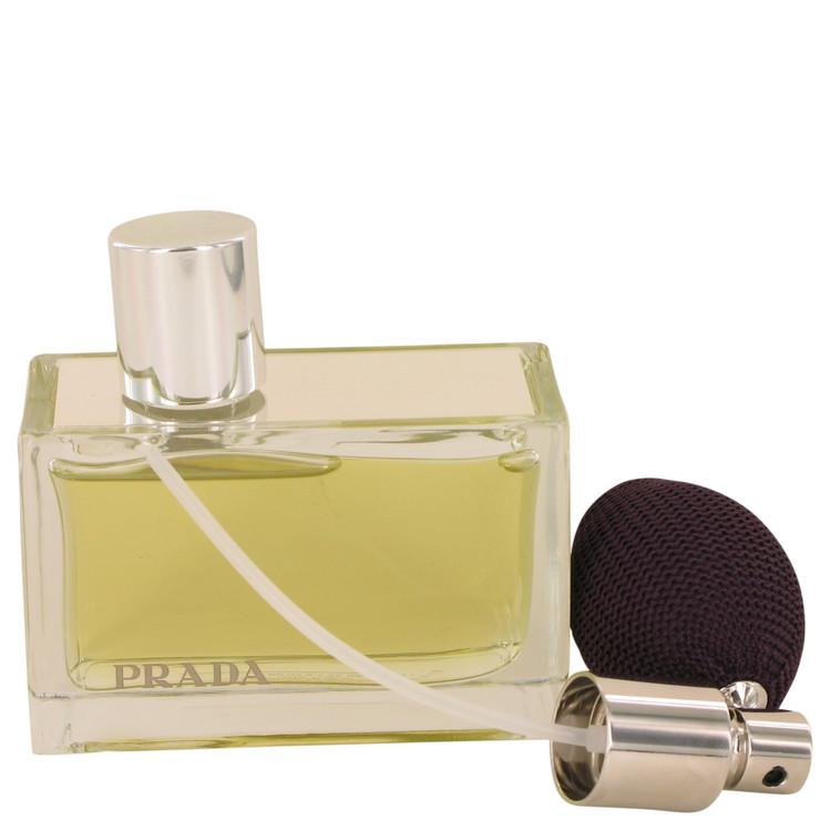 Prada Amber Perfume 80 ml Eau De Parfum Spray Refillable (Tester) for Women