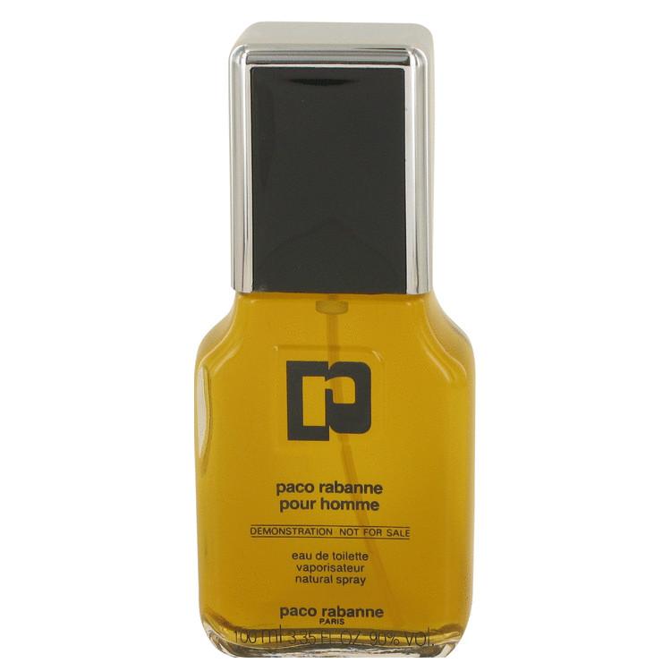 Paco Rabanne Cologne 100 ml Eau De Toilette Spray (Vintage Bottle Tester) for Men