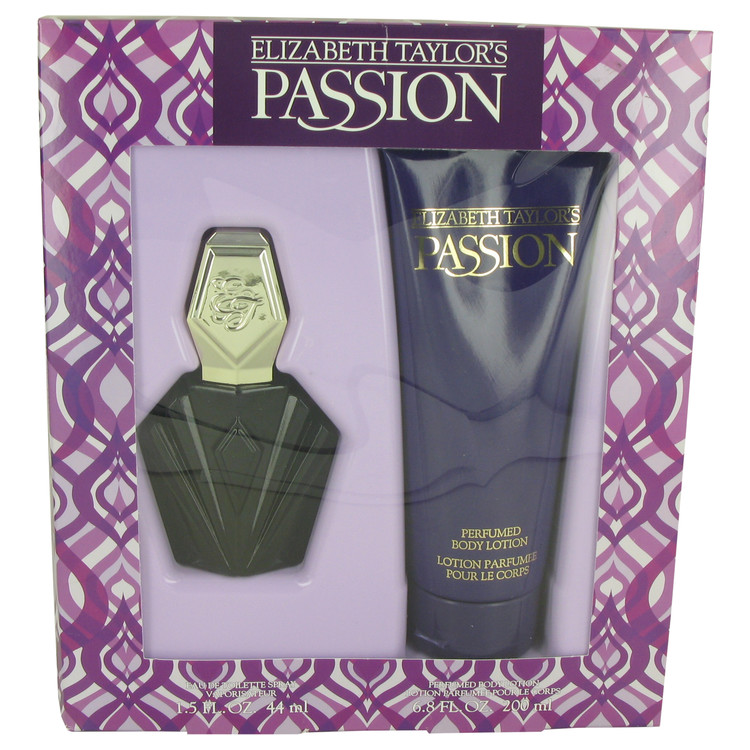 Passion Gift Set -- Gift Set - 1.5 oz Eau De Toilette Spray + 6.8 oz  Body Lotion for Women