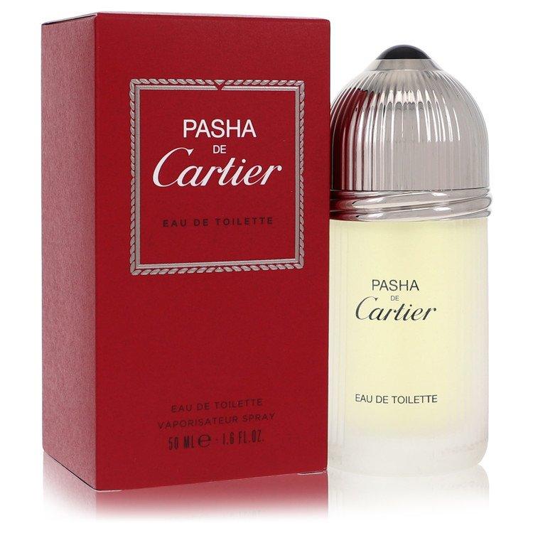 Pasha De Cartier Cologne by Cartier 1.6 oz EDT Spay for Men Spray