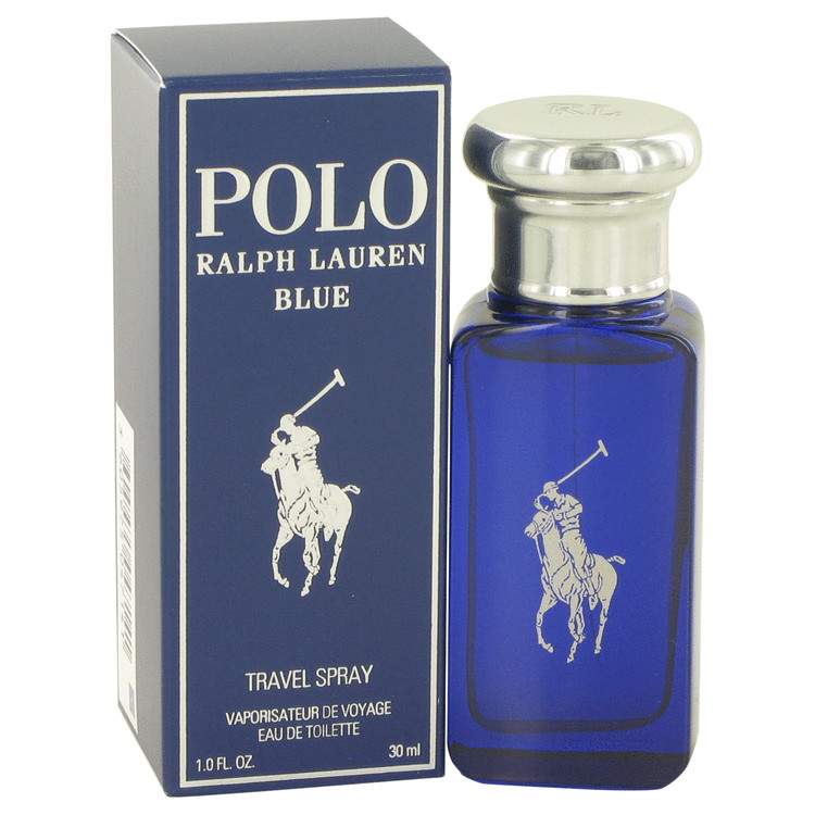 Polo Blue by Ralph Lauren for Men Eau De Toilette Spray 1 oz