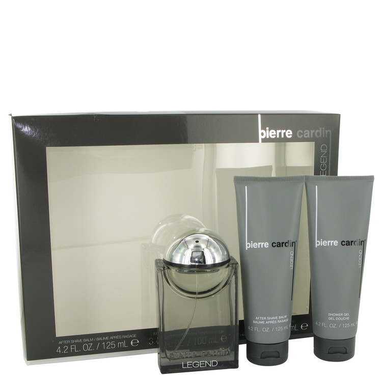 Pierre Cardin Legend Gift Set -- Gift Set - 3.4 oz Cologne Spray + 4.2 oz After Shave Balm + 4.2 oz Shower Gel for Men
