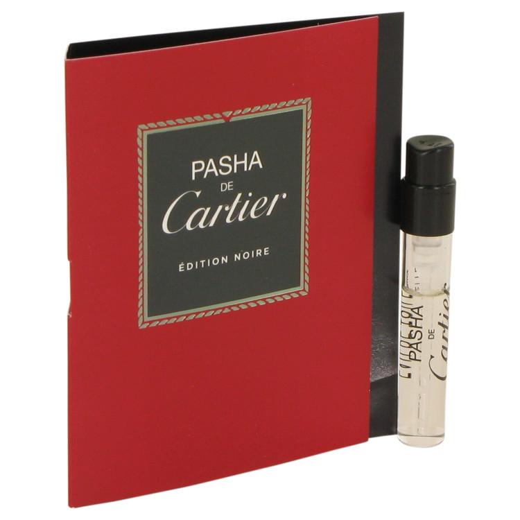 Pasha De Cartier Noire by Cartier for Men Vial (sample) .05 oz