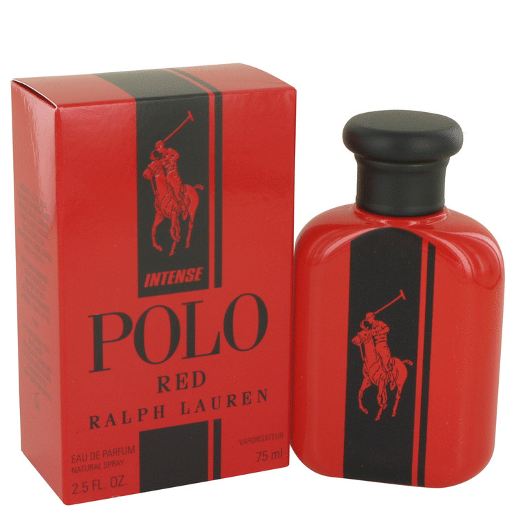 Polo Red Intense by Ralph Lauren for Men Eau De Parfum Spray 2.5 oz