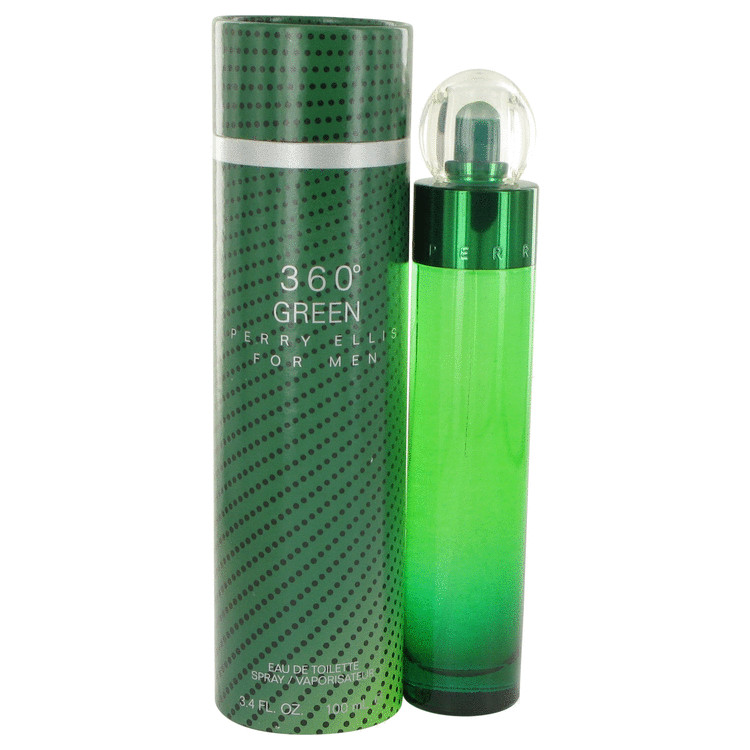 Perry Ellis 360 Green Cologne by Perry Ellis 3.4 oz EDT Spay for Men