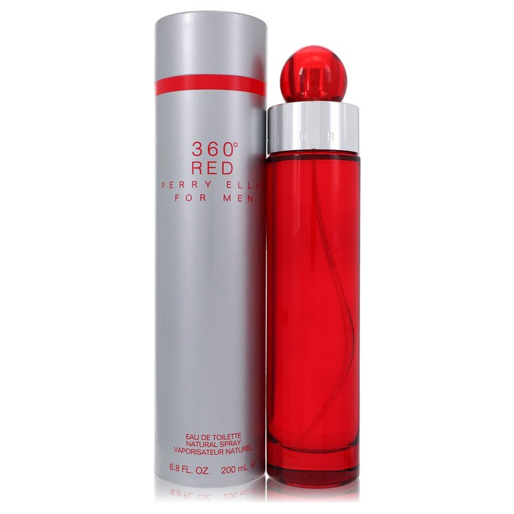 Perry Ellis 360 Red by Perry Ellis Men's Eau De Toilette Spray 6.7 oz
