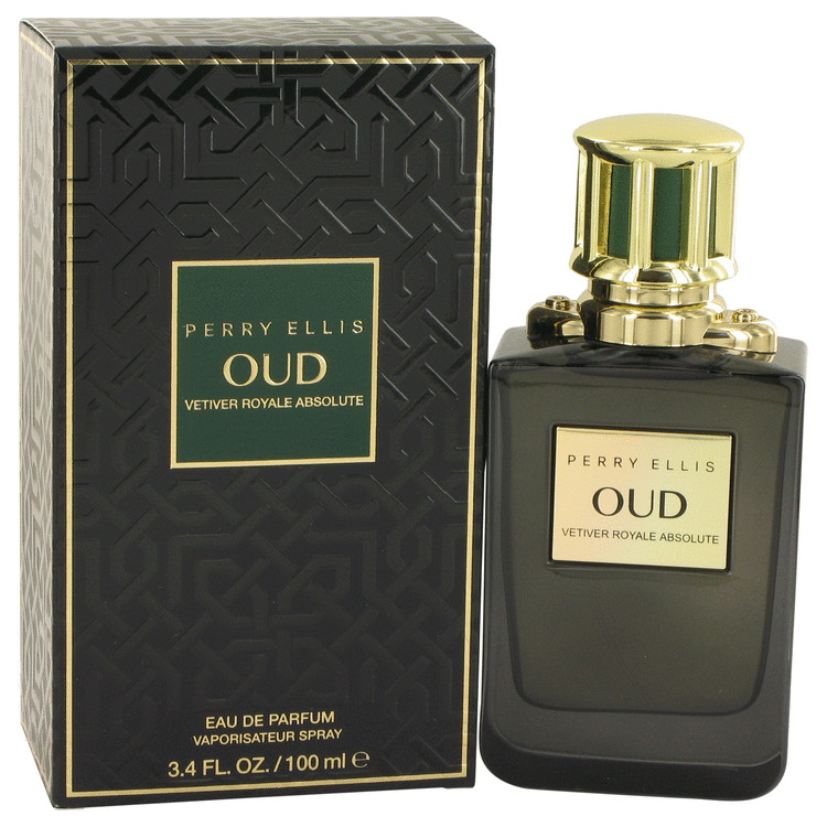Perry Ellis Oud Vetiver Royale Absolute Perfume 100 ml EDP Spay for Women