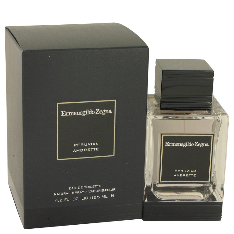 Peruvian Ambrette Cologne by Ermenegildo Zegna 125 ml EDT Spay for Men