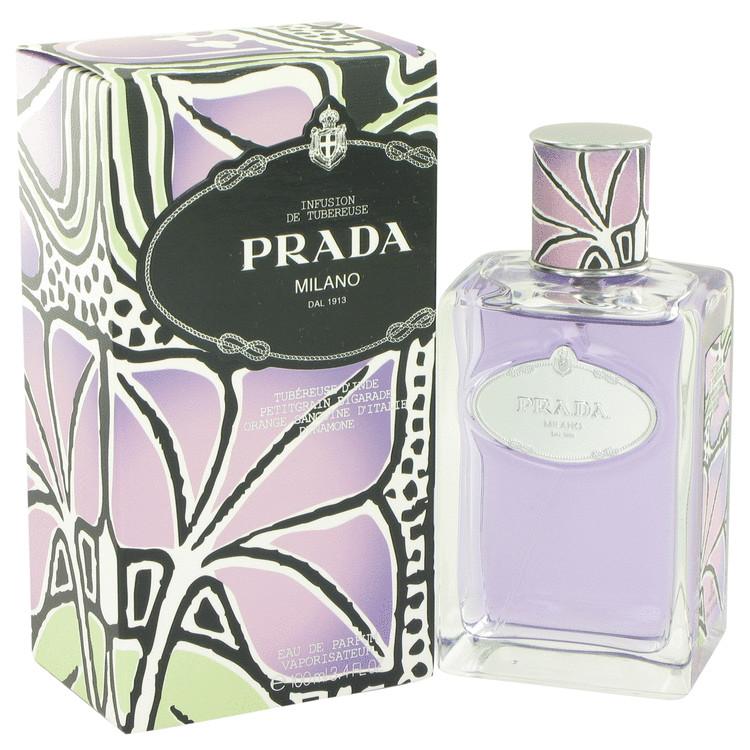 Prada Infusion De Tubereuse by Prada for Women Eau De Parfum Spray 3.4 oz