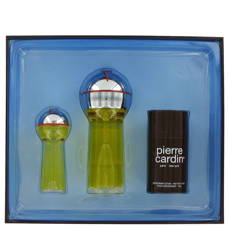Pierre Cardin Gift Set -- Gift Set - 1 oz Cologne + 3.5 oz Soap 2.5 oz Deodorant Stick for Men