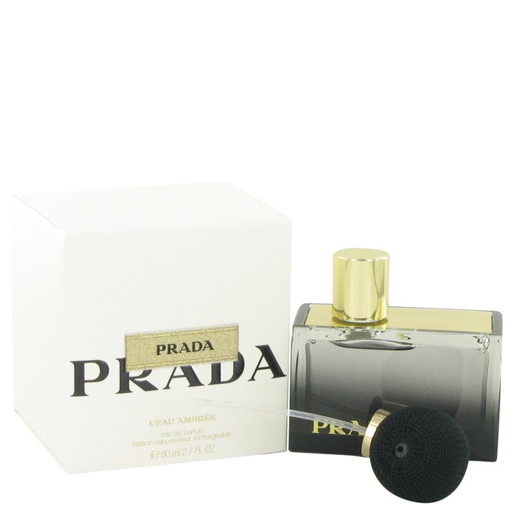 Prada L'eau Ambree Perfume 80 ml Eau De Parfum Spray Refillable for Women