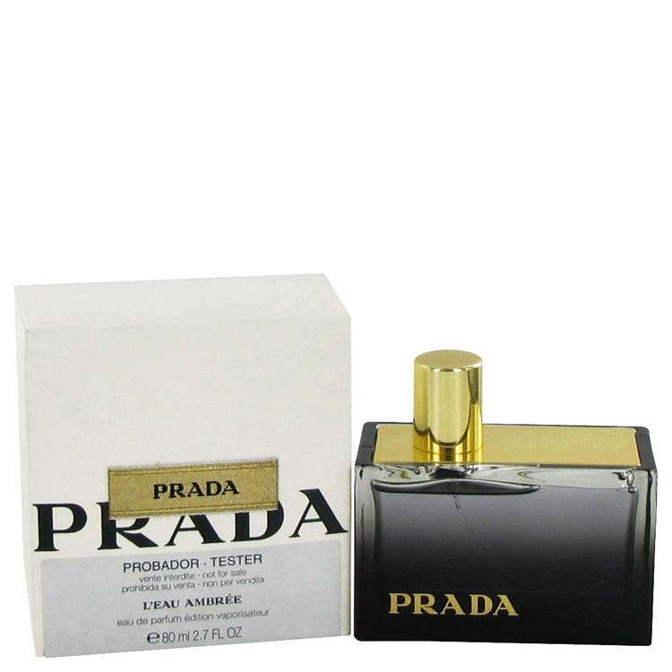 Prada L'eau Ambree Perfume 2.7 oz EDP Spray (Tester) for Women