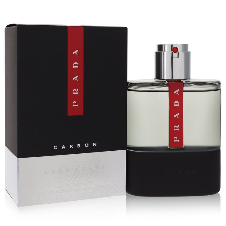 Prada Luna Rossa Carbon Cologne by Prada 100 ml EDT Spay for Men