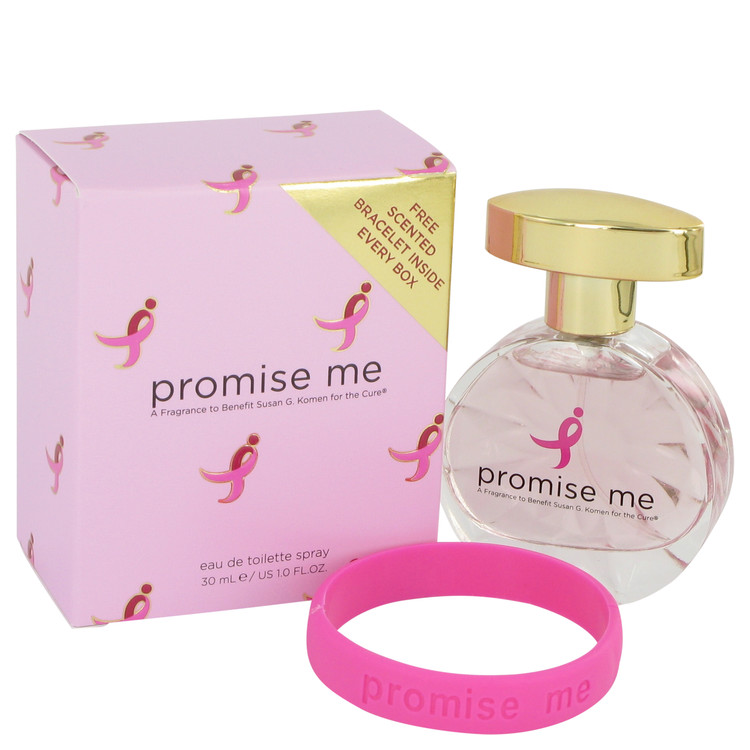 Promise Me by Susan G Komen For The Cure for Women Eau De Toilette Spray 1 oz