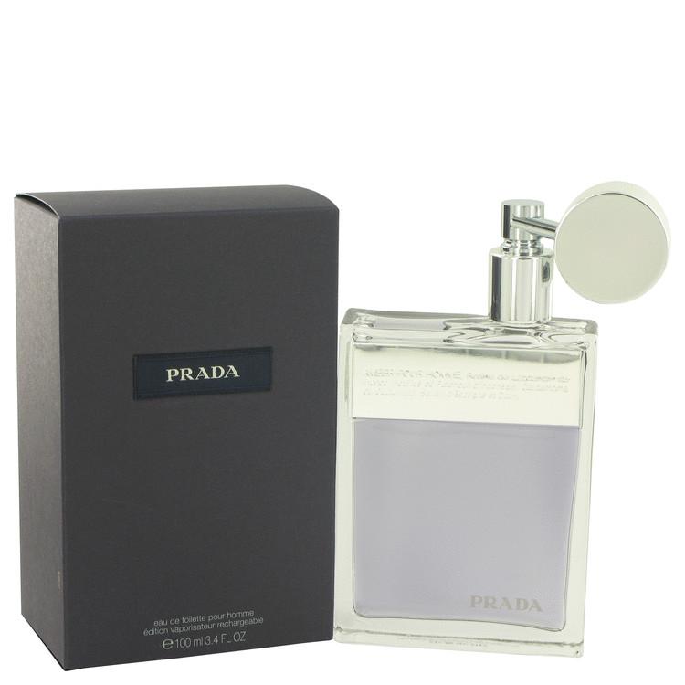 Prada Cologne by Prada 100 ml Eau De Toilette Spray Refillable for Men