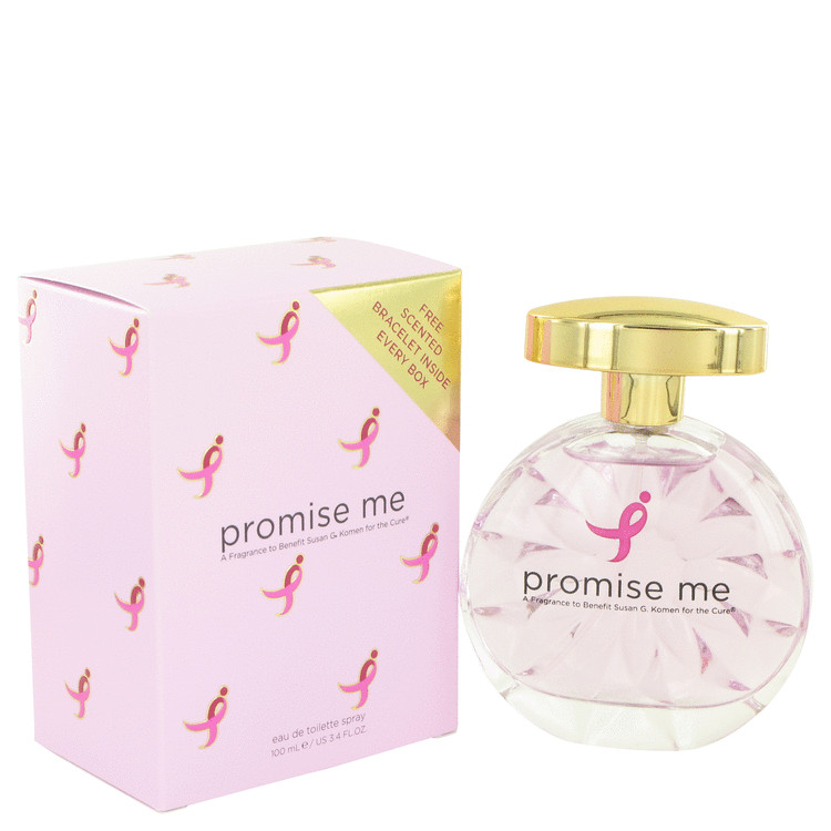 Promise Me by Susan G Komen For The Cure for Women Eau De Toilette Spray 3.4 oz