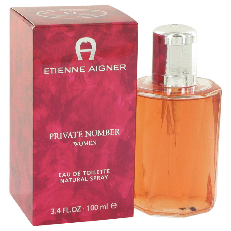 Private Number Perfume by Etienne Aigner 3.4 oz EDT Spay for Women