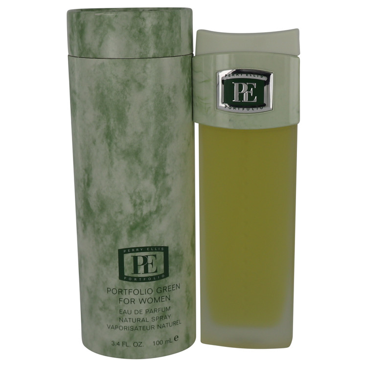 Portfolio Green Perfume by Perry Ellis 3.4 oz EDP Spay for Women