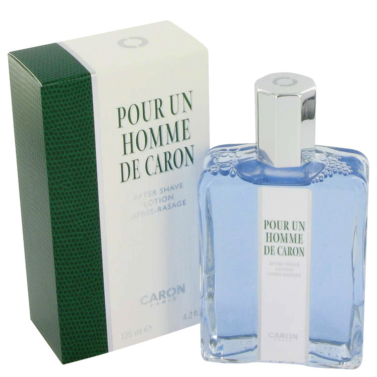 Caron Pour Homme After Shave by Caron 4.2 oz After Shave for Men