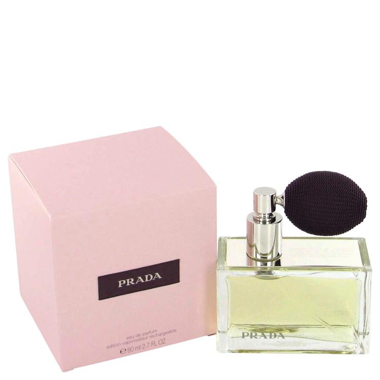 Prada by Prada for Women Eau De Parfum Spray Refillable (includes deluxe atomizer) 2.7 oz