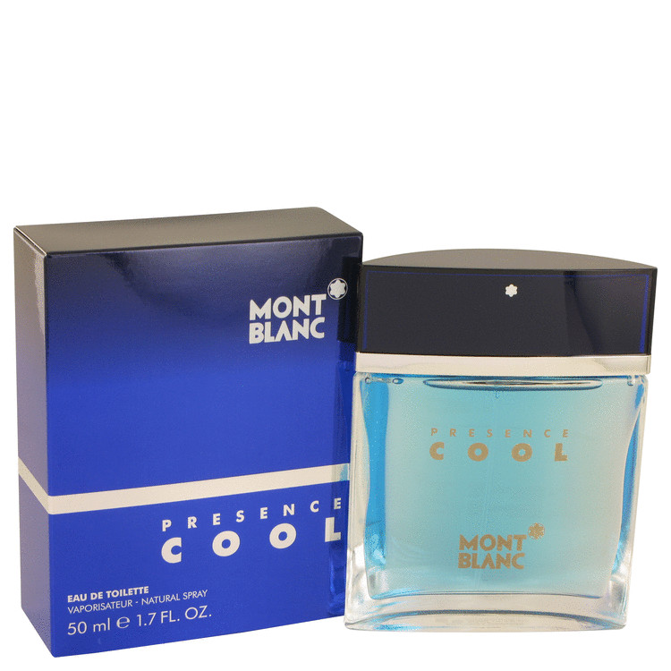 Presence Cool Cologne by Mont Blanc 50 ml EDT Spay for Men