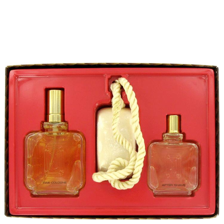 Paul Sebastian Gift Set -- Gift Set - 4 oz Cologne Spray + 2 oz After Shave + 5 oz Soap on A Rope for Men
