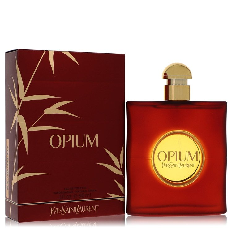 OPIUM by Yves Saint Laurent –  Eau De Toilette Spray (New Packaging) 3 oz 90 ml for Women